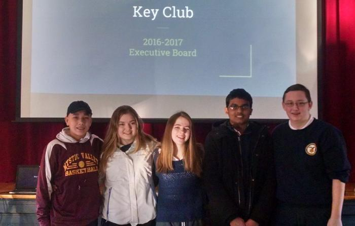 Key Club Elects Officers - News and Announcements - Mystic Valley