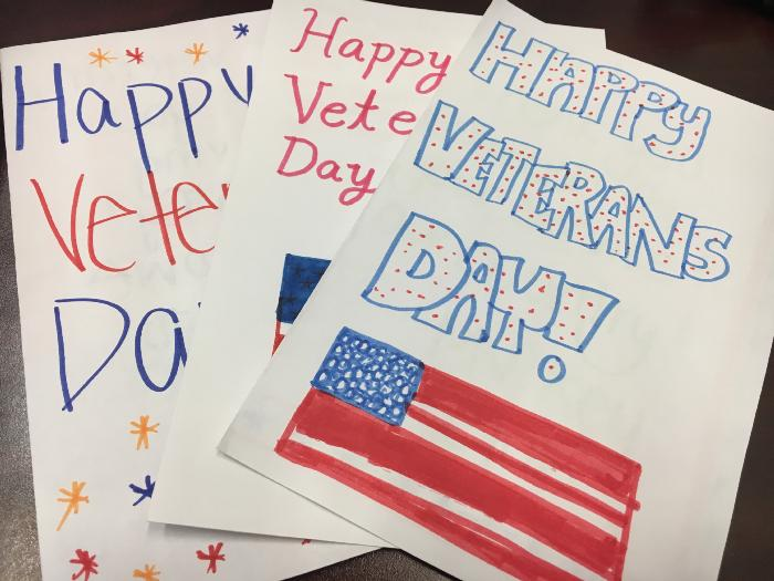 Mystic Valley Students Make Veterans Day Cards News And